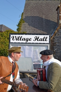 The story of the storytelling. A brand new show designed for village halls.